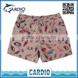 fashion short bermuda surf short polo swimwear men de bain board shorts polyester beach wear