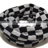 Fashion knitted children thick winter scarves