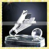 Imitation Crystal Badminton Trophy For The Olympic Games Award Gifts Souvenirs