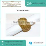 2016 New Arrival Beaded Napkin Rings availableat Best Market Rate from Top Supplier