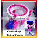2016 DIY Educational Learning Toys Creative Children' Gift Handmade Toys Kintting Machine
