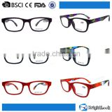 Wholesale china brand your own plastic frame reading glasses
