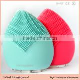 New design natural facial brushes sonic facial brush electric facial cleansing beauty product electric facial cleansing brush