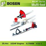 26cc/33cc/43cc 4 in 1 Multifunctional Brush Cutter/Grass Trimmer/Hedge Trimmer/Chain Saw