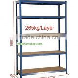 ADJUSTABLE SHELVE RACKS SHELVING SHOP RACKS 1800X900X450MM SHELVING RACKS IN RED BLACK POWDER COATED