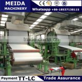 Gongyi City Meida toilet tissue paper making machine Install Abroad Whatsapp +8618537138115