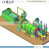 Waste to diesel oil recycling plant by pyrolysis and catalyst