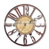 round shape wall clock plastic wall clock decoration wall clock hot clock digital wall clock