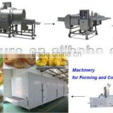 Reciprocating Stainless Steel Food Conveyor/Automatic Burger Patty Machine/Chicken Popcorn Processing Machine