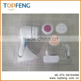 Facial cleansing brush , 360 rotational facial cleansing brush