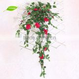 GNW FLV11 Bulk Buy From China Chinese Wedding Accessories Artificial Vine with Rose Flower