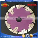 "4"" 105mm Diamond Blade Turbo Deep Tooth Triangle Grinding Wheel Stone Tile Saw Blade Cutting Marble Abrasive Cutter Disc"