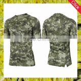 Wholesale fancy fashion skinny sport wear men camouflage shirts fit slim custom camo t shirts tshirt men China manufacture