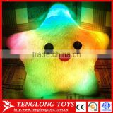 Hot sale Star LED pillow colorful shining led light pillow