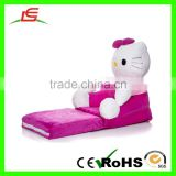 High quality cartoon stuffed mei-red hello kitty children sofa for living room