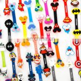 hot selling creative good quality korea cartoon character buttons cable winder/earphone plastic bobbin winder