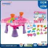 New product kids plastic toy sand and water table toys