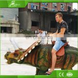 Amusement rides coin operated walking dinosaur rides