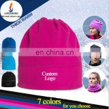 Wholesale winter bandana fleece hat multifunction warm balaclava hat