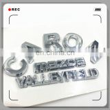Custom auto accessories chrome emblems