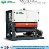 Fast feeding polishing wide belt sanding machine