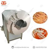 High Capacity Ginger Slicing Cutting Processing Machine Carrot cutting machine