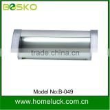 new recessed aluminium furniture drawer handle with high quality