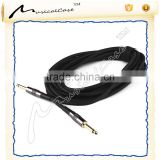 Professional noiseless Straight Male to Male Mono Guitar / Bass / keyboard Instrument Cable