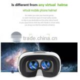 2015 Google cardboard VR BOX 2.0 Version VR BOX Virtual Reality Glasses 3D Smart Bluetooth Wireless Mouse/Remote Control