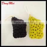 Hot Fashionable star shape soap scrap,free sample mesh bath sponge ball