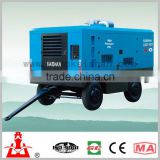 air compressor portable shallow well drilling rig