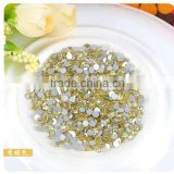 FACTORY PRICE NON-HOTFIX Flat Back Rhinestone Crystal Clear Rhinestone for Nail Art Decoration