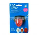 Hot sell amazing temperature controlled colour changing egg timer egg shape kitchen timer                                                                         Quality Choice