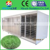 Grass planting for animal feed seed sprouting machine price