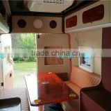 Low Price of mobile travel caravan/mobile home truck with table, sofas,TV,bed, kitchen, bathroom,A/C,etc