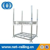 Heavy duty galvanized stackable warehouse storage angle steel racking