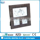 hot selling Luxury square leather photo frame