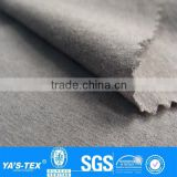 Grey Bamboo Charcoal Polyester Spandex Warp Elastic Stretch Textil Fabric For Sportswear Jacket Shirt