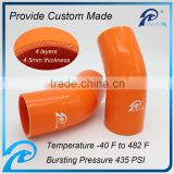 "Cooling Systems 45 Degree ID 3/4"" > 5/8"" Inch Silicone Reducer Coupler Hoses"