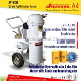 Hot selling three grade filter oil change machine/gear oil purification systems with small volume