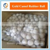Various Sizes White/Brown/Transparent Silicone Rubber Ball for Screen Cleaning