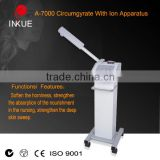 A-7000 Hot Selling Ozone Facial Steamer Salon Spa Skin Care Deep Cleansing Lifting Beauty machine