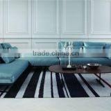 2015 Modern Design germany sectional corner sofa Top Grain Leather MS1209