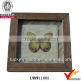 mdf butterfly square shabby chic art minds wood frame                                                                         Quality Choice