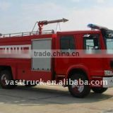 HOWO 4*2 fire truck 10t for sale
