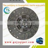 High quality auto and truck parts size 330*90*10 Clutch discs plates driven disc assembly EQ140-2 for yutong youngman bus