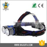 JF LED bicycle headlight lamp light long-range dual-use rechargeable outdoor night riding a bike driving lamp