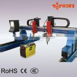 cnc plasma cutting machine china, hypertherm powermax 130XD, gantry type cnc plasma cutting machine