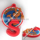 Wholesale 2014 Safe Material Customized Soft PVC Keychain For Promotional Gifts