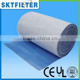 2014 White and Blue pads or rolls fashionable cheap synthetic fiber air filter cotton